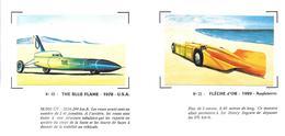 BL51 - IMAGES CHADENAC SUR PAPIER - IRVING NAPIER GOLDEN ARROW HENRY SERGRAVE - BLUE FLAME GARY GABELICH - Voitures