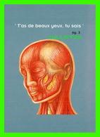 ADVERTISING - PUBLICITÉ DE LIVRES - LE JOURNAL DU SOIR, LE GRAND ATLAS DU CORPS HUMAIN - T'AS DE BEAUX YEUX TU SAIS - - Publicité
