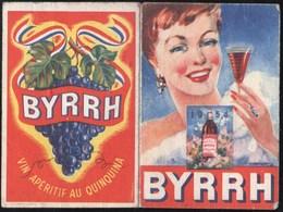 Vieux Papiers > Calendriers > Petit Format : 1941-60 BYRRH  Apéritif Au Quinquina 1954 - Calendriers
