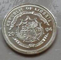 2004 ND - Vatican - Libéria – Médaille – Medal - Republic Of Liberia – New Vatican Coins – Five Dollars B - Tokens & Medals