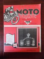 Moto Magazine N° 35 Maurice Pire - Mariage Motocycliste à Molenbeek - Magnéto Basse Tension - Auto/Moto