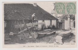 LE JURA - Types Et Costumes Scieurs De Long - Environs De St Laurent Du Jura / Environs En Grandvaux Chaumusse Morbier - France