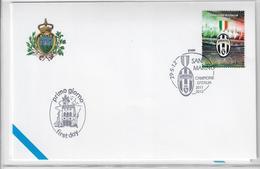 SAN MARINO 2012 - JUVENTUS - FDC - FDC