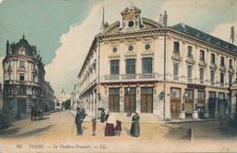CPA - France - (37) Indre Et Loire - Tours - Le Théâtre Français - Tours
