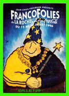 ADVERTISING - PUBLICITÉ DE MUSIQUES - 12 E ÉDITION FRANCOFOLIES DE LA ROCHELLE AVEC COCA COLA EN 1996 - - Publicité