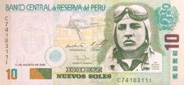 Peru 10 Nuevos Soles, P-179a (11.8.2005) - UNC - Pérou