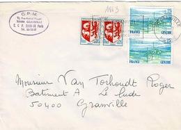 TP N° 1863 Et 1468 En Paires Surenveloppe De Granville - 1961-....