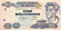 Bolivia 10 Bolivianos, P-228 (2005) - UNC - Bolivie