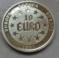 1997 - Europe – Europa – Médaille - Medal - 10 EURO - Fichas Y Medallas