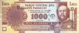 Paraguay 1.000 Guaranies, P-222b (2005) - UNC - Serie D - Paraguay