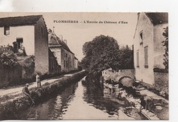 Cpa.21.Dijon.Plombières .L'Entrée Du Château D'Eau.animé Lavandières.1922 - Dijon