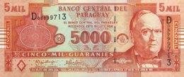 Paraguay 5.000 Guaranies, P-223a (2005) - UNC - Serie D - Paraguay