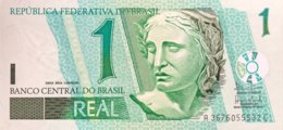 Brazil 1 Real, P-251 (2003) - UNC - Sign. 40 - Brasilien