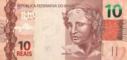Brazil 10 Reais, P-254a (2010) - UNC - Brésil