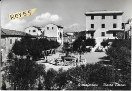 Lazio-roma-grottaferrata Piazza Cavour Veduta Differente Inquadratura Piazza Anni 50/60 - Italië