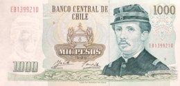 Chile 1.000 Pesos, P-154f (1996) - UNC - Chili