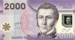 Chile 2.000 Pesos, P-162a (2010) - UNC - Chile