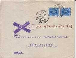 Egypt Airmail Cover To Germany  (Red-3000-special3) - Ägypten