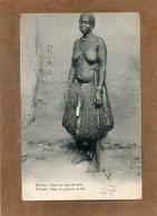 CPA - GUINEA-BISSAU - Femme Papel En Costume De Fête En 1907 - Guinea-Bissau
