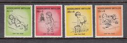 Netherlands Antilles MNH NVPH Nr 318/21 From 1961 - Curaçao, Nederlandse Antillen, Aruba
