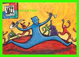 ADVERTISING - PUBLICITÉ DE MUSIQUES - COULEURS JAZZ, 1997 - TOURCOING JAZZ FESTIVAL (59) - - Publicité
