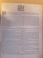 Ordonnance à Propos De La Bière Et Du Vin à Liège En 1770 - Decrees & Laws