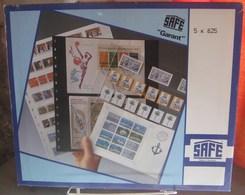 I.D. - Feuilles GARANT - 5 BANDES Fond Transparent - REF. 825 (5) - Albums & Reliures