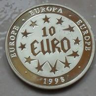 1998 - Europe – Europa – Médaille - Medal - 10 EURO - Fichas Y Medallas
