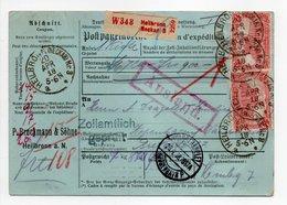 - Bulletin D'expédition HEILBRONN (Allemagne) Pour København (Copenhague / Danemark) 20.4.1918 - A ETUDIER - - Germania