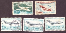 France  -  Postes Aérienne   1954 # 1960 # 1965  ##  Opportunity - Airmail