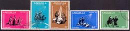Anguilla 1968 SG #44-48 Compl.set Used Christmas - Anguilla (1968-...)