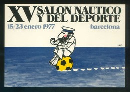 Barcelona. Ilustrador: Cesc *XV Salón Náutico Y Del Deporte* Imp. Edigraf. Nueva. - Evénements