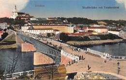 Russia Rusland  Grodno   Stadtbrücke Mit Totalansicht    I 5301 - Rusland