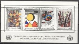 UNO Genf Block 1 ** Postfrisch - Genf - Büro Der Vereinten Nationen