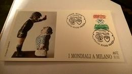 MILANO I MONDIALI 1990 STADIO MEAZZA -  CARTONCINO ANFE - Calcio