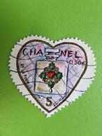 Timbre France YT 3632 - Saint-Valentin - Coeur De Karl Lagerfeld - Flacon Chanel N° 5 Dans Un Coeur - 2004 - France