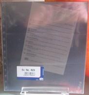 I.D. - Feuilles GARANT - 3 BANDES Fond Transparent - REF. 823 (5) - Albums & Reliures