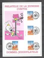 Belgique N° 2578 Cubitus Dupa Sur Carte Philatelie De La Jeunesse 8.10.1994 - Philabédés (fumetti)