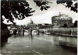 LBR41 - ROMA CASTEL SANT'ANGELO ET VATICAN CIRCULEE OCTOBRE 1950 - Cafés, Hôtels & Restaurants