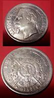 Monnaie = 5 Francs = 1868 = Atelier BB : Strasbourg - J. 5 Francs