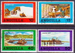 Anguilla 1969 SG #49-52 Compl.set Used Salt Industry - Anguilla (1968-...)