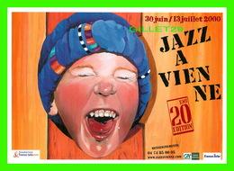 ADVERTISING - PUBLICITÉ DE MUSIQUES - 20e ÉDITION DE JAZZ A VIENNE EN 2000 - - Publicité