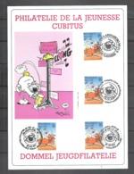 Belgique N° 2578 Cubitus Dupa Sur Carte Philatelie De La Jeunesse 8.10.1994 - Philabédés