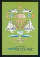 Barcelona *Yacht Brokerage. Salón Internacional De Ocasión* Imp. Estudio Mariscal 2005. Nueva. - Eventos