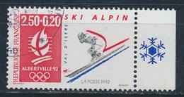 France - JO D'Hiver Albertville 92 -Ski Alpin  YT 2710a Obl. - France