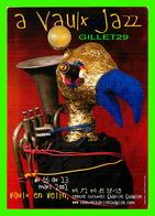ADVERTISING - PUBLICITÉ DE MUSIQUES - FESTIVAL À VAULX JAZZ 2002 - CENTRE CULTUREL CHARLIE CHAPLIN, VAULX-EN-VELIN - - Publicité