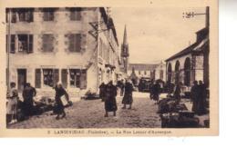 LANDIVISIAU  La Rue Latour D'Auvergne  CPSM - Landivisiau