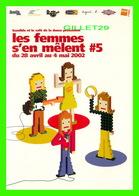 ADVERTISING - PUBLICITÉ DE MUSIQUES - BANDIDO & LE CAFÉ DE LA DANSE PRÉSENTE LES FEMMES S'EN MÊLENT No 5 EN 2002 - - Publicité