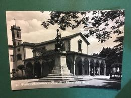 Cartolina Prato - Monumento A Magnolfi E Chiesa Della Pietà - 1958 - Firenze
