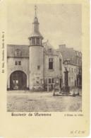 Souvenir De Waremme L'hotel De Ville Nels Pompe A Eau 1902 - Waremme